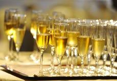 Champagne Flautes imagem de stock royalty free