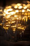 Champagne Flautes Stock Photography