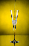 Champagne flows Stock Image