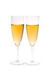 Champagne in fluit Stock Foto