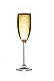 Champagne flute Stock Photos
