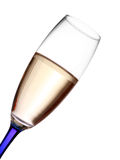 Champagne flute closeup Stock Images