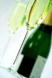 Champagne in flute glass Royalty Free Stock Photo