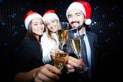 Champagne Flutes photos libres de droits