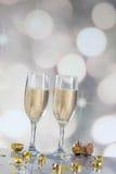 Champagne Flutes Foto de Stock
