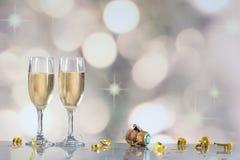 Champagne Flutes Fotos de Stock