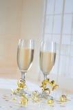 Champagne Flutes Imagem de Stock Royalty Free