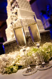 Champagne Flutes Royalty Free Stock Photography