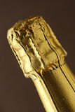 Champagne foil top Stock Photos