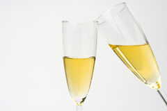 Free Champagne For Celebrate Christmas Festive Royalty Free Stock Photo - 7485215