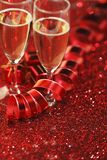 Champagne and gifts Stock Photos