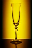 Champagne-Glas Stockbild