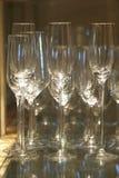 Champagne-glas Royalty-vrije Stock Foto's