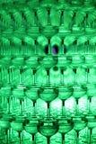 Champagne-glaspiramide Stock Foto