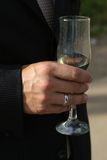 a champagne glass * Obrazy Stock
