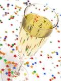 a champagne glass * Zdjęcia Stock