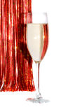 Champagne glass. Royalty Free Stock Image