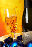 a champagne glass * Obrazy Royalty Free