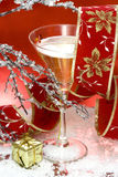 a champagne glass * Fotografia Stock