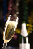 Champagne glass Stock Image