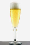 Champagne in glass Stock Photo