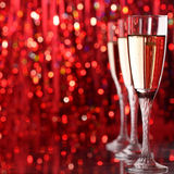 Champagne glass Royalty Free Stock Photography