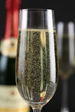 Champagne in a glass Stock Photography