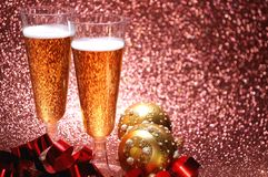 Champagne glass celebration day festivity Royalty Free Stock Photos
