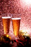 Champagne glass celebration day festivity Stock Images