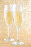 Champagne glass cups Royalty Free Stock Photo