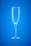 Champagne Glass vacío Imágenes de archivo libres de regalías
