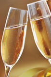 Champagne glasses Royalty Free Stock Photography