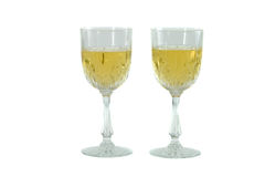 Champagne glasses. Stock Photos