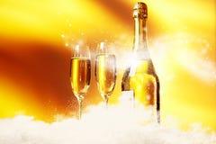 Champagne glasses Stock Image