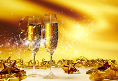 Free Champagne Glasses Stock Photography - 28059212