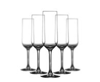 Champagne glasses Stock Photos