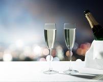 Champagne Glasses Arkivbild