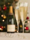 champagne glasses Στοκ Φωτογραφία
