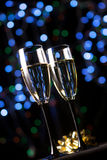 champagne glasses Στοκ φωτογραφία με δικαίωμα ελεύθερης χρήσης