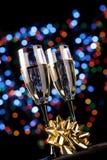 champagne glasses Στοκ εικόνα με δικαίωμα ελεύθερης χρήσης