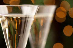 Champagne Glasses Abstract Royalty Free Stock Images