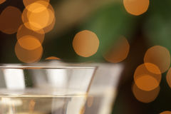 Champagne Glasses Abstract Royalty Free Stock Photography