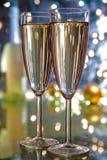 Champagne in glasses. Stock Image
