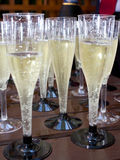 Champagne glasses I Stock Images