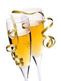 Champagne-Gläser Lizenzfreie Stockfotografie