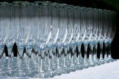 Champagne-Gläser Lizenzfreie Stockfotos