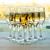 Champagne Grouping Royalty Free Stock Photography