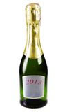 Champagne isolated on white background Royalty Free Stock Photos