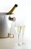 Champagne ist betriebsbereit! Lizenzfreies Stockfoto