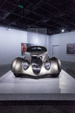 Champagne kleurde 1936 Ford Roadster Impression royalty-vrije stock foto